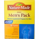 Nature Made, Daily Men's Pack, 5 Supplements Per Packet, 30 Packets