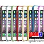 (152-1062)เคสมือถือไอโฟน case iphone 6 บัมเปอร์ curved metal รุ่นหัวเข็มขัด