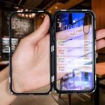 (745-002)เคสโทรศัพท์มือถือหัวเว่ย Case Huawei P20 เคสกันกระแทกกระจกนิรภัย 360 องศาหน้าหลัง