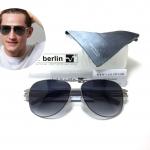 แว่นกันแดด ic berlin model M0132 Peari 61-14 <เงิน>