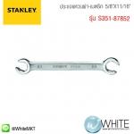 """ประแจแหวนผ่า-เมตริก 5/8""""X11/16"""" รุ่น S351-87852 ยี่ห้อ STANLEY"""