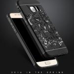 (587-021)เคสมือถือซัมซุง Case Samsung S7 Edge คสยางกันกระแทกลายมังกร