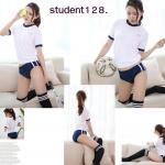 รหัส student128 ชุดพละนักเรียนญี่ปุ่นแบบเซ็กซี่