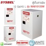 ตู้เก็บสารเคมีสำหรับเก็บสารที่เป็นพิษ Safety Cabinet|Toxic Cabinet (12 Gal/45 L) รุ่น WA810120W
