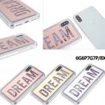 (436-396)เคสมือถือไอโฟน Case iPhone X เคส Glitter Dream
