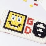 (151-387)เคสมือถือไอโฟน case iphone 6/6S เคสพลาสติกเลโก้ GD