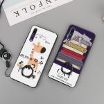 (025-1208)เคสโทรศัพท์มือถือหัวเว่ย Case Huawei P20 Pro เคสพลาสติกลายน่ารักๆพร้อมแหวนติดด้านหลัง