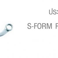 ประแจแหวนทรงตัวเอส S-FORM RING WRENCHES