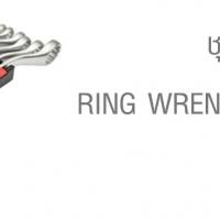ชุดประแจแหวน (นิ้ว) RING WRENCH SETS (INCH)