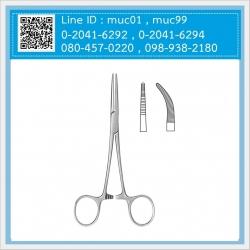 คีมจับเส้นเลือด Crile Artery Forceps (clamp ตรง/ clamp โค้ง)
