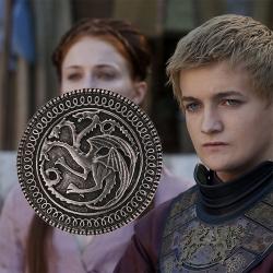 Game of Thrones Targaryen Dragon Pin Brooch เข็มกลัดรูปมังกรสัญลักษณ์แห่งราชวงศ์