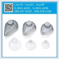 หน้ากากชุดช่วยหายใจมือบีบ Silicone Resuscitators Mask