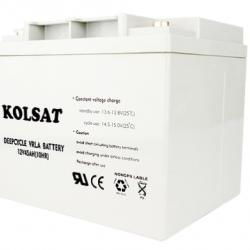 แบตเตอรี่ Deep Cycle Kolsat Nano GEL 45Ah 12V