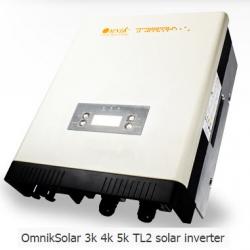 Omnik inverter 5K TL2 (PEA) ผ่านการรับรองจากการไฟฟ้าภูมิภาค