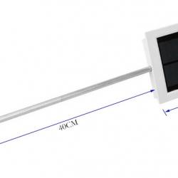โคมไฟถนนโซล่าเซลล์ 12 LED outdoor 1.8W