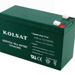 แบตเตอรี่แห้ง Deep Cycle Kolsat VRLA 7Ah 12V