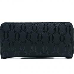 Lucky Wallet กระเป๋าโชคดีสีดำรับทรัพย์คนเกิดวันจันทร์ มีช่องซิปใส่เหรียญในตัว ใส่มือถือได้