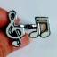 Music Notes Open Ring Music Series แหวนรูปตัวโน๊ต ปรับระดับได้ thumbnail 1