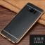 (025-1143)เคสมือถือ Case Samsung S8 Plus/ S8+ เคสนิ่ม TPU ขอบทองแววพื้นหลังลายหนัง thumbnail 4