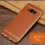 (025-1143)เคสมือถือ Case Samsung S8 Plus/ S8+ เคสนิ่ม TPU ขอบทองแววพื้นหลังลายหนัง thumbnail 7