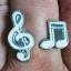 Music Notes Open Ring Music Series แหวนรูปตัวโน๊ต ปรับระดับได้ thumbnail 2