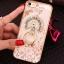 (025-1101)เคสมือถือไอโฟน case iphone 5/5s/SE เคสนิ่มซิลิโคนใสลายหรูติดคริสตัล พร้อมแหวนเพชรวางโทรศัพท์ thumbnail 10