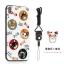 (025-882)เคสมือถือไอโฟน Case iPhone X เคสนิ่มซิลิโคนลายน่ารักพร้อมแหวนมือถือและสายคล้องคอถอดแยกได้ thumbnail 5