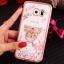 (025-1150)เคสมือถือซัมซุง Case Samsung S7 Edge เคสนิ่มซิลิโคนใสลายหรูประดับคริสตัล พร้อมแหวนเพชรมือถือตั้งโทรศัพท์ thumbnail 4