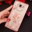 (025-1047)เคสมือถือซัมซุง Case Samsung Galaxy J5 2016 เคสนิ่มซิลิโคนใสลายหรูประดับคริสตัล พร้อมแหวนเพชรตั้งโทรศัพท์ thumbnail 3