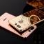(025-1151)เคสมือถือ Case Huawei P9 เคสกรอบบัมเปอร์โลหะฝาหลังอะคริลิคแววกึ่งกระจก thumbnail 1