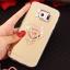 (025-1177)เคสมือถือซัมซุง Case Samsung S6 เคสนิ่มพื้นหลังแววกึ่งกระจก เลนส์กล้องขอบเพชร พร้อมแหวนเพชรตั้งโทรศัพท์และสายคล้องคอถอดแยกสายได้ thumbnail 19