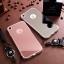 (025-983)เคสมือถือไอโฟน Case iPhone7/iPhone8 เคสนิ่มพื้นหลังแววกึ่งกระจกเรียบหรู พร้อมสายคล้องคอถอดแยกสายได้ thumbnail 2