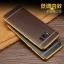 (025-1143)เคสมือถือ Case Samsung S8 Plus/ S8+ เคสนิ่ม TPU ขอบทองแววพื้นหลังลายหนัง thumbnail 3