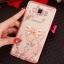 (025-1047)เคสมือถือซัมซุง Case Samsung Galaxy J5 2016 เคสนิ่มซิลิโคนใสลายหรูประดับคริสตัล พร้อมแหวนเพชรตั้งโทรศัพท์ thumbnail 2