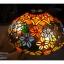โคมไฟstain glass ลายดอกไม้ รหัส15261ss1 thumbnail 7