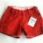 Oshkosh กางเกงขาสั้น สีแดงเลือดหมู แต่งกระดุมปลายขา ปรับเอวได้ ผ้าไม่หนา ใส่ชิวๆ ได้ทุกวันค่ะ size 4,5,6x thumbnail 1