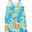 เดรส Crazy 8 Ruffle Floral Knit (blue) thumbnail 2