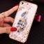 (025-1101)เคสมือถือไอโฟน case iphone 5/5s/SE เคสนิ่มซิลิโคนใสลายหรูติดคริสตัล พร้อมแหวนเพชรวางโทรศัพท์ thumbnail 8