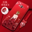 (587-006)เคสมือถือซัมซุง Case Samsung J7 เคสนิ่มแฟชั่นลายผู้หญิงขอบเพชร thumbnail 2
