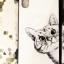 (633-023)เคสมือถือไอโฟน Case iPhone X เคสนิ่มพื้นหลังกระจกลายน้องแมวน่ารักตามหาเจ้าของ thumbnail 3