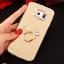 (025-1177)เคสมือถือซัมซุง Case Samsung S6 เคสนิ่มพื้นหลังแววกึ่งกระจก เลนส์กล้องขอบเพชร พร้อมแหวนเพชรตั้งโทรศัพท์และสายคล้องคอถอดแยกสายได้ thumbnail 21