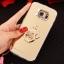 (025-1177)เคสมือถือซัมซุง Case Samsung S6 เคสนิ่มพื้นหลังแววกึ่งกระจก เลนส์กล้องขอบเพชร พร้อมแหวนเพชรตั้งโทรศัพท์และสายคล้องคอถอดแยกสายได้ thumbnail 20