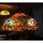 โคมไฟstain glass ลายดอกไม้ รหัส15261ss1 thumbnail 1