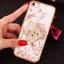 (025-1101)เคสมือถือไอโฟน case iphone 5/5s/SE เคสนิ่มซิลิโคนใสลายหรูติดคริสตัล พร้อมแหวนเพชรวางโทรศัพท์ thumbnail 13