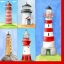 แนพกิ้น 33x33 lighthouse 1210-09045 thumbnail 1