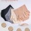 เก็บพุงย้วย ยกก้นย้อย ด้วย JAPAN MUNAFIE High Waist Panties กางเกงในไร้ตะเข็บทรงเอวสูง ช่วยเก็บกระชับพุงย้วย ยกก้นย้อย thumbnail 9