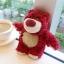 (151-289)เคสมือถือ HTC One A9 เคสพลาสติกใสดิสนีย์หมีตุ๊กตาสตรอเบอร์รี่ thumbnail 7