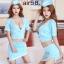 รหัส Air hostress58 ชุดคอสเพลย์แอร์โฮสเตสเซ็กซี่ thumbnail 2