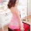 2in1 Sweet Pink Sexy Babydoll ชุดนอนเซ็กซี่ซีทรูสีชมพูแต่งระบายที่อก ระบายชาย พร้อมจีสตริง thumbnail 4