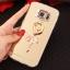 (025-1147)เคสมือถือซัมซุง Case Samsung S7 Edge เคสนิ่มพื้นหลังแววกึ่งกระจก เลนส์กล้องขอบเพชร พร้อมแหวนเพชรตั้งโทรศัพท์และสายคล้องคอถอดแยกสายได้ thumbnail 4